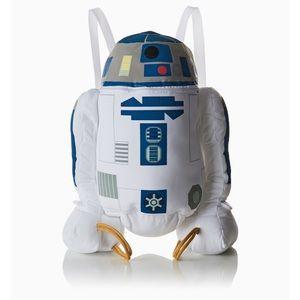Disney's Star Wars R2D2 plush backpack